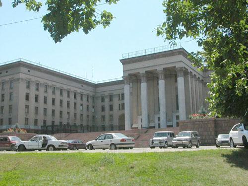 Дом правительства – КБТУ