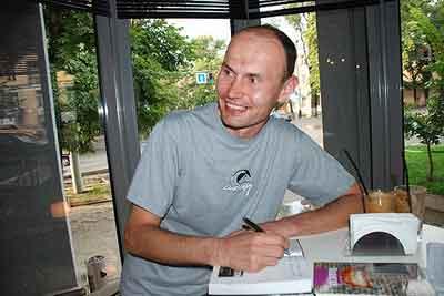 Писатель Михаил Земсков