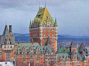 Отель «Замок Фронтенак» в Квебеке