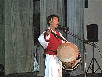 Корейский музыкант