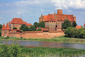 Замок Мариенбург в Мальборке
