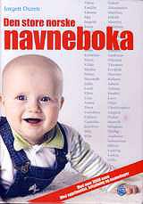 Обложка словаря норвежских имен