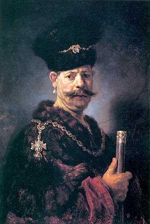 Рембрандт, «Портрет польского дворянина»