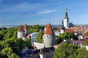 Старая часть Таллинна